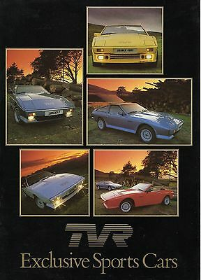 TVR 350i 280i • 1985 ± • Brochure Prospekt • English • EXCELLENT