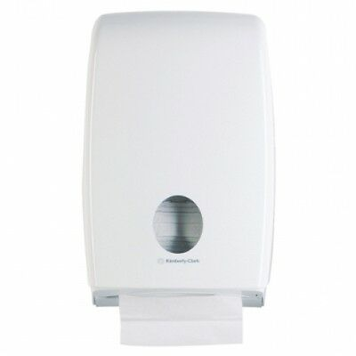 Kimberly Clark Kcp Aquarius 70230 Multifold Double Clip Dispenser in White