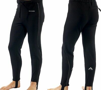 Altura Ladies Winter Cruiser Thermal Un-Padded Cycling Tights Black Size 14