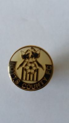 Notts County Small Size Crest Badge