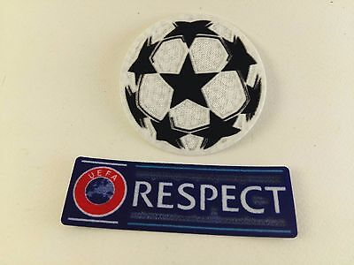 UEFA Champions League 2017/18 Football Sport Authentic Iron On Patch Soccer FIFA