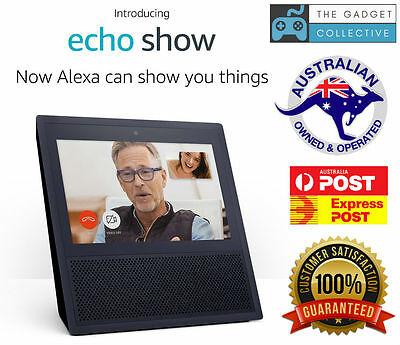 Amazon Echo Show Alexa Powered Touch Screen Videos Music Recipes Home Automation