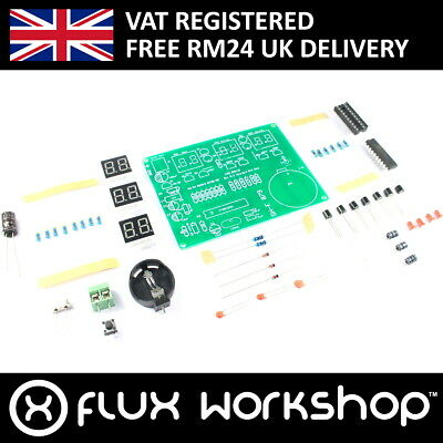 AT89C2051 6 Zahl LED Uhr DIY Kit Empfänger Arduino Flux Workshop
