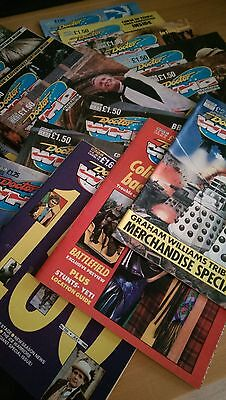 Marvel Doctor Who Monthly Magazines