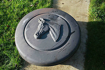 Horse 4x4 car spare wheel cover black Large BR Goodrich plastic + material