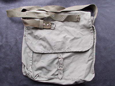 Genuine Vintage Military Canvas Shoulder Bag Bulgarian Army 1971 Cold War Period