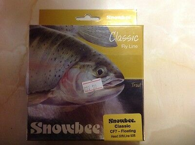 Snowbee classic trout fly line cf7 floating