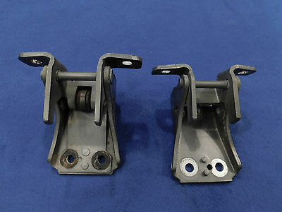 99 00 01 02 03 04 Ford Mustang Upper Lower Door Hinge Pair Left Right OEM Used