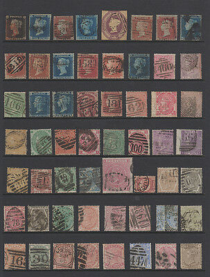 GREAT BRITAIN Magnificant Collection of Sound 19th Century QV Stamps...86 Diff