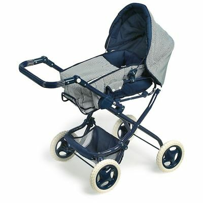 Pram stroller for dolls Marine game little girl