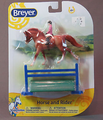 Breyer Stablemate English Horse & Rider 2016 1:32 scale # 6202 MIB NR