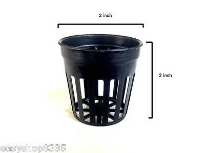 """50 2"""" Inch Net Cup Pots Hydroponic System Grow Kit"""