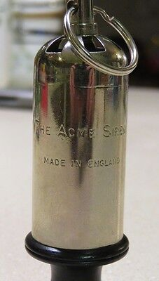 The Acme Siren Whistle Made in England Working Condition