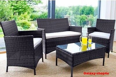 Rattan Table And Chair Set Garden Furniture Bistro Outdoor Patio Conservatory W
