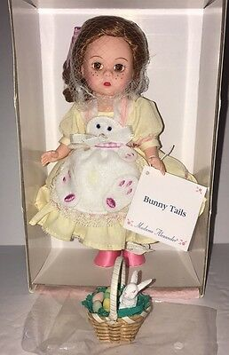 "Madame Alexander Doll Bunny Tails 8"" Mint In Box"