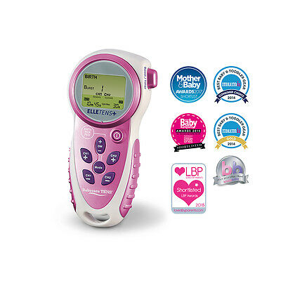Elle TENS Plus - for pain relief during labour - 3-in-1 with contraction timer