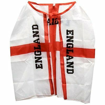 England Flag Football And Rugby Supporters Cape Adult Size (MI62)