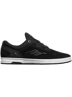 Men's EMERICA Skate Shoes WESTGATE CC Trainers Black / White - SALE PRICE UK 8