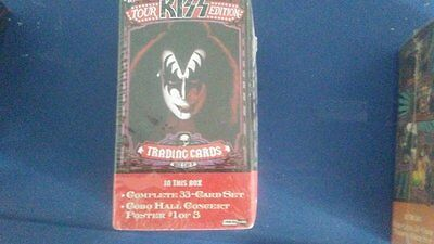 tour kiss edtion trading cards