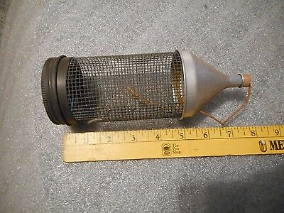 ANTIQUE - collectible fishing bait cage