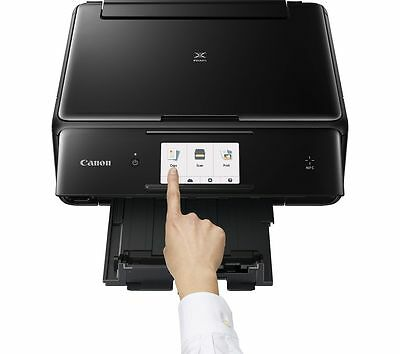 CANON PIXMA TS8050 All-in-One Wireless A4 Inkjet Printer Black