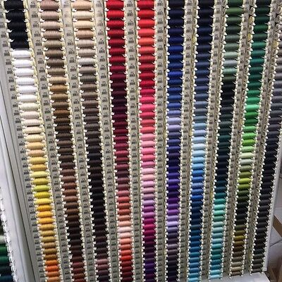 Gutermann Sew-All Polyester Sewing Thread 100m Colour Code 500+ Free Postage