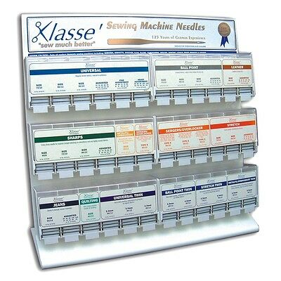 Best Quality Klasse Sewing Machine Needles - Every Type & Size - Free Postage