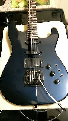 Charvel model 4 with case