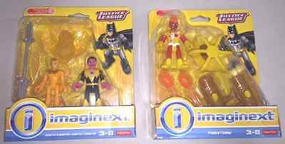 Imaginext DC Justice League  Cheetah & Sinestro and Firestorm  LOT