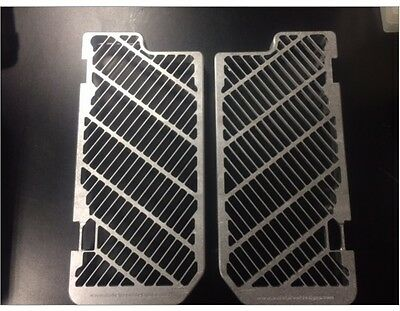 Bullet Proof Silver Radiator Guards for Gas Gas 2007-17 EC 200 250 300 GAS-RG-07