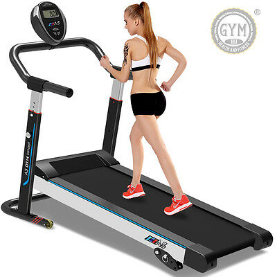 Pro Pliable Auto-Alimenté Tapis de course Gym Equipment Fitness Marche Machine