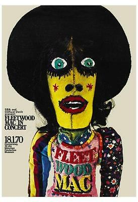Fleetwood Mac POSTER *AMAZING* Live In Germany Stevie Nicks Lindsey Buckingham