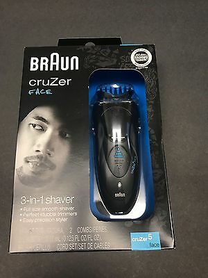 Braun Cruzer 5 Beard and Head Trimmer PRIORITY SHIPPING NEW