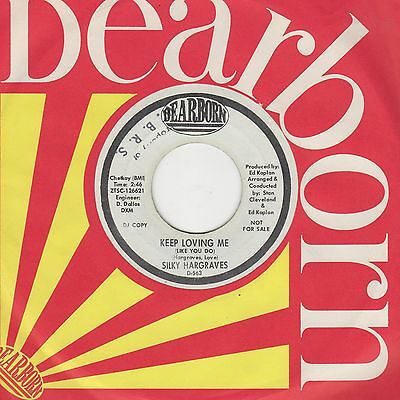 Silky Hargraves - Keep Loving Me  - Dearborn Demo D-563 - Northern soul