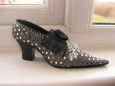Sparkly Shoe Money Box / Ornament