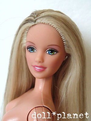 Teen SKIPPER Doll Cool Sitter Nude for play or OOAK steaked hair Barbie sister