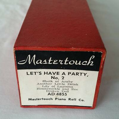 Pianola Piano Roll Let's Have Another Party Part 2 Mastertouch AD 4855 - 036
