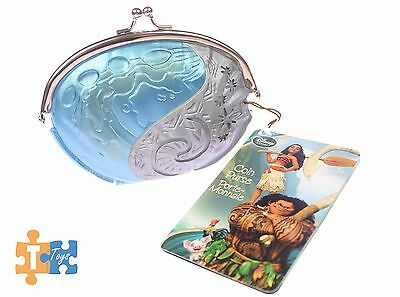 "Moana Heart of Te Fiti Coin Purse 2017 Official Disney Store ""NEW"""