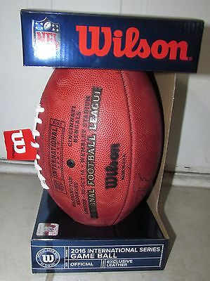 NFL Authentic International Game Ball Redskins Bengals Signed #18 Josh Doctson