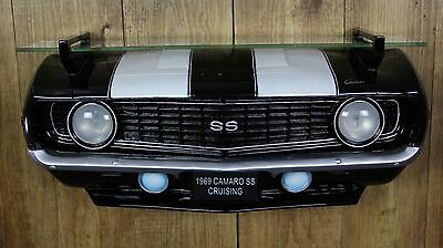 GM Chevrolet 1969 Chevy Camaro Ss Front End Wall Shelf Light Man Cave Furniture
