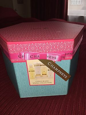 New Champneys Citrus Blush Spring Collection Gift Set