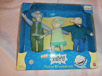 Rare Rugrats collectible figures - grandparents  1998.