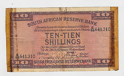 South Africa - 1941, 10 Shillings