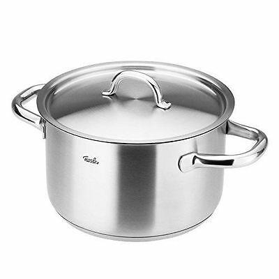 FISSLER Stainless Steel Stockpot with Lid D24cm 6.8l - Brand New
