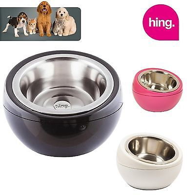 Hing Dome Dog Bowl Various Colours High Quality Stylish Bowl - Fast Delivery