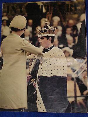 Prince Of Wales Investiture Commemorative  Daily Telegraph Supplement 06/07/69.
