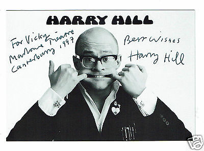 Harry Hill British Comedian Hand Signed Photograph 6 x 4