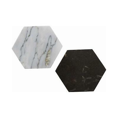 NEW Hex Marble Coaster
