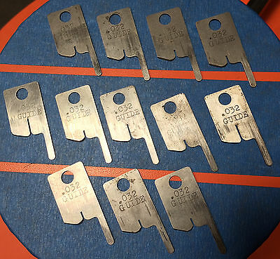 Eubanks .032 Guide Wire Stripping Blade Set 2600 blades 00156 Cut AWG gauge lot