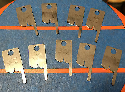 Eubanks .040 Guide Wire Stripping Blade Set 2600 blades 00156 Cut AWG gauge lot